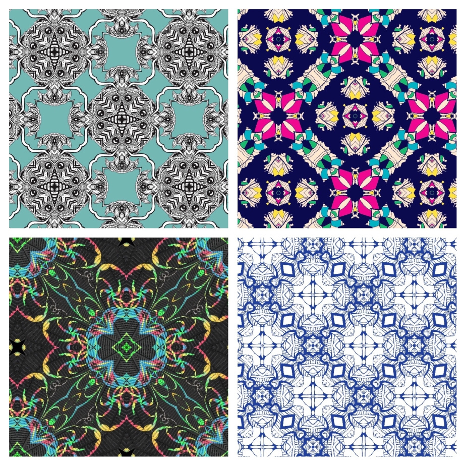 My drawings in pattern